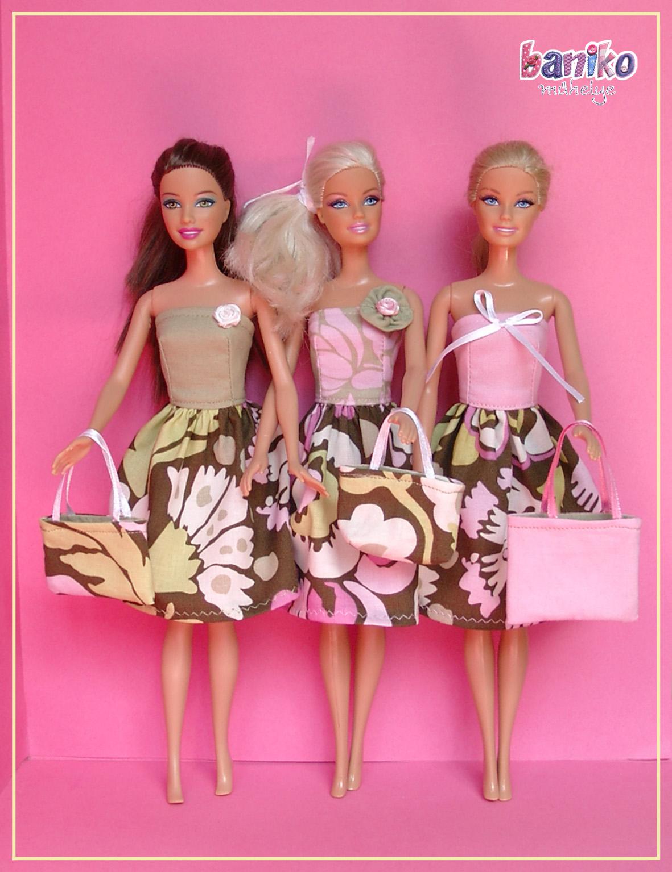 Amy Butler és Moda anyagokból varrt babaruhák