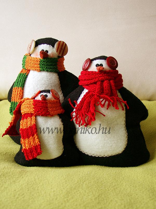 Fázós pingvinek