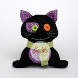 Fekete macska Halloweenre
