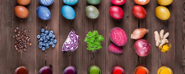 Természetes tojásfestő növények